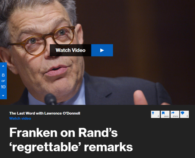 In an exclusive interview, Ari Melber asks Sen. Al Franken (D-Minn.) about Patriot Act reforms, the changing politics of national security in America, Rand Paul and Hillary Clinton.