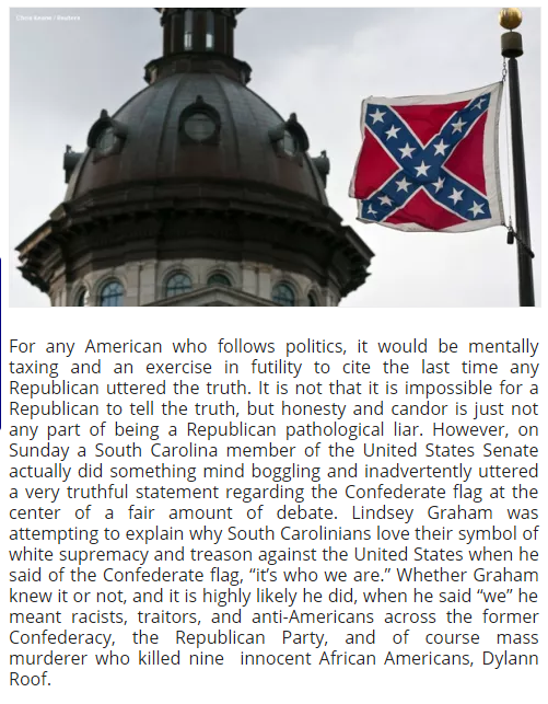 racism as represented through a flag Following the civil war, the flag represented the south's lost cause against the north: it was the southerner's way of paying homage to their struggle for the sons, wives, widows, daughters and.