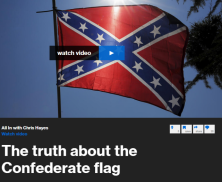 Those who claim the Confederate battle flag has no racial connotation are ignoring its use as a symbol of opposition to the civil rights movement.