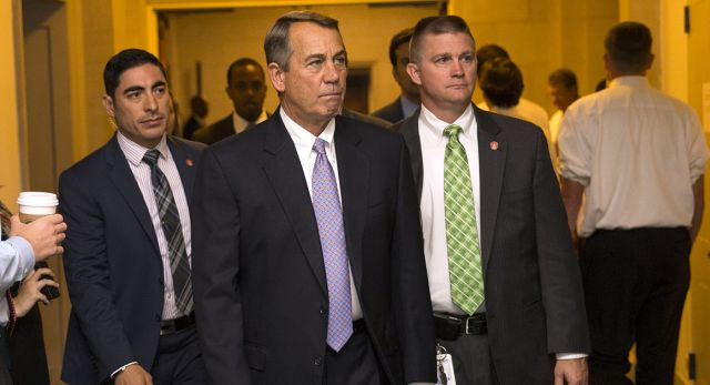 BOEHNER TO MOVE