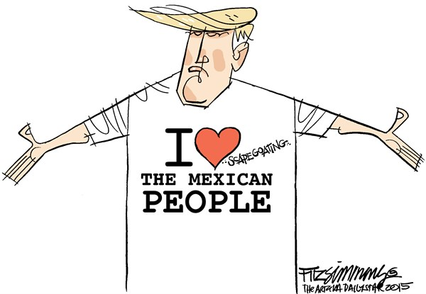 [72% OF LATINOS HAVE A NEGATIVE OPINION OF DONALD J. TRUMP]