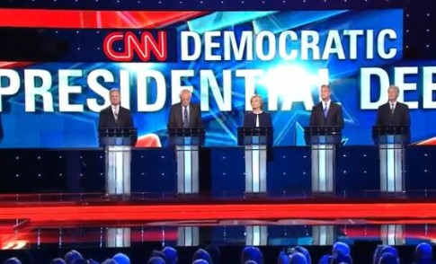 As Republicans continue to tantrum and tie themselves in knots over their presidential debates, Democrats have stepped up and taken over the NBC timeslot that was vacated by the GOP.
