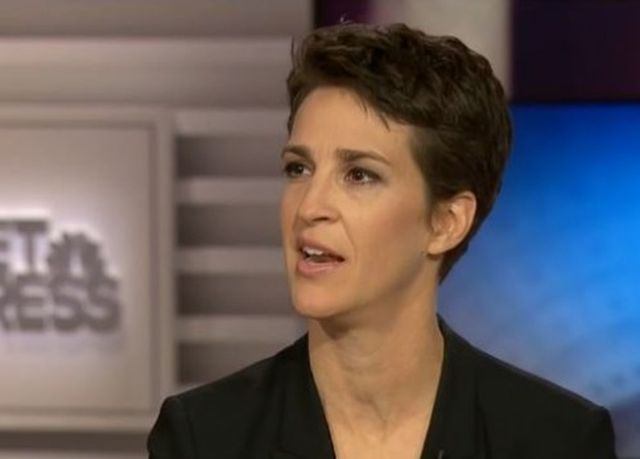 Rachel Maddow leveled conservative media darling Hugh Hewitt with facts while demonstrating why she should be hosting Meet The Press instead of Chuck Todd.