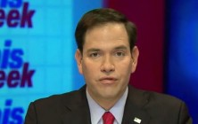 Republican presidential candidate Marco Rubio was asked for his strategy to defeat ISIL during an interview on ABC's This Week, and he responded by offering up an incoherent non-policy that is typical of the Republican wannabe presidents.