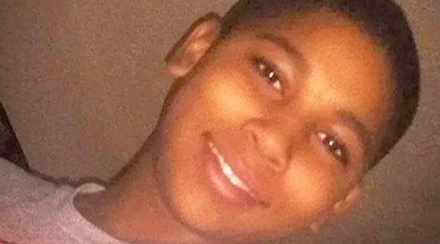 Tamir Rice, shot dead by police while carrying fake gun