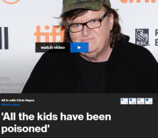 "Filmmaker and Flint native Michael Moore tells Chris Hayes that Governor Rick Snyder ""created the disaster"" in Flint, where tens of thousands of people have been exposed to lead in the water supply."