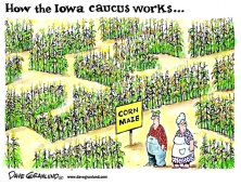 MAZE Color-Iowa-caucus