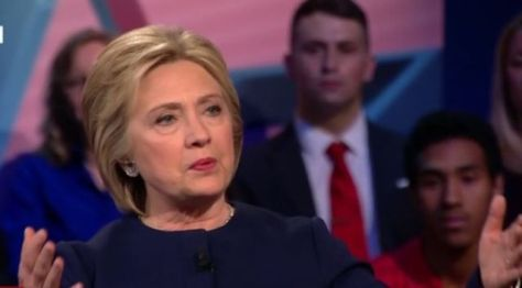 Hillary Clinton made the Republican Party's worst nightmares come to life as she coolly destroyed Donald Trump on several occasions during the CNN Democratic town hall from Ohio.