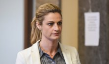 NASHVILLE, TN - MARCH 03: Sportscaster and television host Erin Andrews returns to the courtroom on March 3, 2016 in Nashville, Tennessee. (Photo by Erika Goldring/Getty Images)