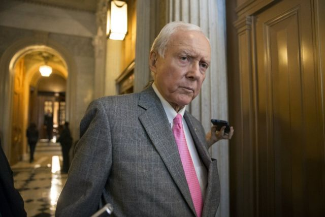 "Sen. Orrin Hatch (R-UT), who called Merrick Garland ""highly qualified,"" in 1997"