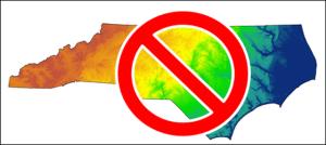 NC map