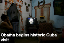 Havana hosts an American president for the first time in almost 90 years, and reactions in the Cuban capital range from optimism to cynicism.
