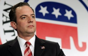 FILE - In this Jan. 24, 2014 file photo, Republican National Committee Chairman Reince Priebus is seen at the RNC winter meeting in Washington. Millionaires and billionaires are increasing their influence in federal elections, forcing the parties to play more limited roles, and raising questions about who sets the agenda in campaigns. In a handful of key Senate races, the biggest and loudest players so far are well-funded groups that don't answer to any candidate or political party-such as the conservative billionaire Koch brothers. Some veteran lawmakers worry about the clout of the Republican and Democratic parties, which have dominated U.S. politics since the Civil War. The recent Supreme Court ruling appears unlikely to reduce the role that outside groups are playing. (AP Photo/Susan Walsh, File)