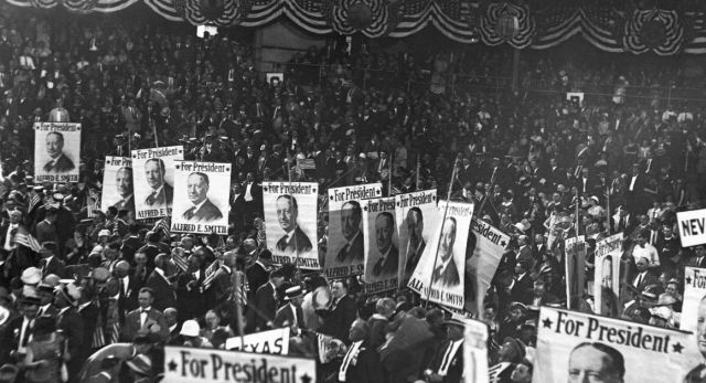 Nearly 100 years ago, it took the Democrats 103 ballots and 16 sweaty days to select a nominee. Could the GOP be headed for a similar showdown this year?