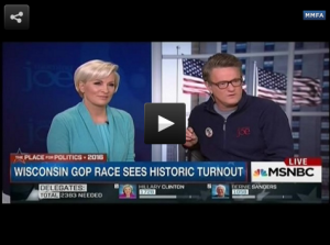 HOSTS: Mika Brzezinski and Joe Scarborough.