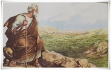 God shows Moses The Promised Land.