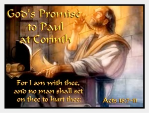 paul corinth Acts 18-7-11