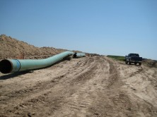 Pipeline operator TransCanada shut down a section of its Keystone pipeline Sunday after about 187 gallons of crude oil spilled from the line in South Dakota, an accident that environmental groups say highlights the dangers of shipping oil by pipeline.