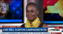 "First Lady of New York City, Chirlane McCray, joins MSNBC's Tamron Hall to share her support for Hillary Clinton and comments on the ""qualification"" fight between Clinton and Bernie Sanders."