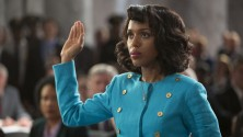 "Kerry Washington as Anita Hill in ""Confirmation."""