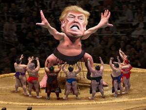 TrumpSumoCaricature