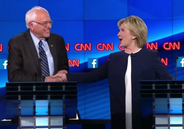 clinton-sanders-cnn