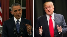President Obama eloquently remembered America's fallen heroes on this Memorial Day weekend, while Donald Trump again postponed disclosing how much money he raised for veterans.