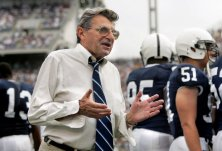 "Court documents state that ""in 1976, a child allegedly reported to PSU's Head Coach Joseph Paterno that he (the child) was sexually molested by Sandusky."" (Joe Hermitt, PennLive.com)"