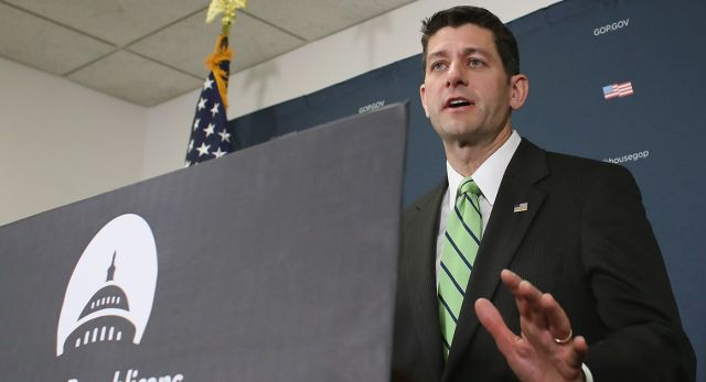 Paul Ryan has reached a tentative deal that will help Puerto Rico's debt crisis. | Getty