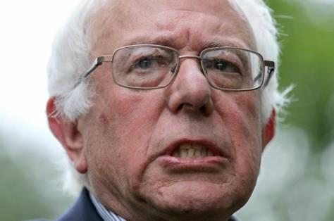 Democratic presidential candidate, Sen. Bernie Sanders, I-Vt., speaks during a news conference at his home Sunday, June 12, 2016, in Burlington, Vt. (AP Photo/Cheryl Senter)