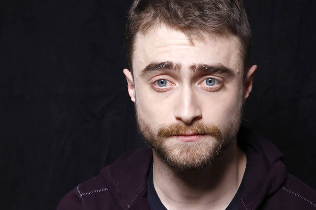 "Actor Daniel Radcliffe poses for a portrait to promote the series, ""Swiss Army Man"", at the Toyota Mirai Music Lodge during the Sundance Film Festival on Saturday, Jan. 23, 2016 in Park City, Utah. (Photo by Matt Sayles/Invision/AP)"