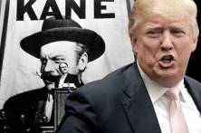"Orson Welles in ""Citizen Kane;"" Donald Trump(Credit: RKO/Reuters/Chris Keane/Photo montage by Salon)"