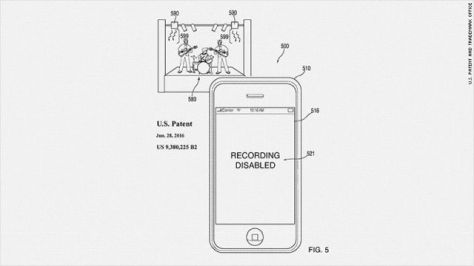 APPLE PATENT 160630083644-recording-disabled-patent-780x439