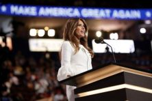 Melania wanted to give the speech so she could show the world the softer, more personal side of Trump. She wanted to help voters get to know her husband better, CNN reported. (Getty)