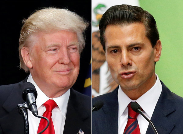 U.S. Republican presidential nominee Donald Trump said he plans to meet Mexican President Enrique Pena Nieto on Wednesday, hours before outlining his proposals for cracking down on illegal immigration.