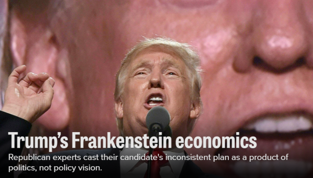 Republican experts cast their candidate's inconsistent plan as a product of politics, not policy vision.