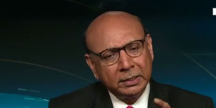 During an interview on CNN, Khizr Khan showed why he is Donald Trump's worst nightmare as he expressed the moral outrage of a decent man over Donald Trump's pocketing of a veteran's Purple Heart.
