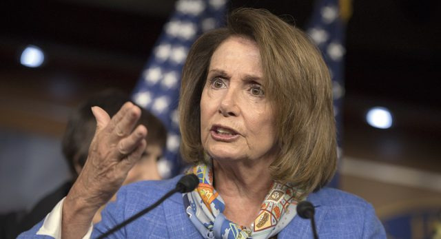 Minority Leader Nancy Pelosi wrote in a note to colleagues that she was changing her phone number and advised colleagues to do the same. | AP Photo