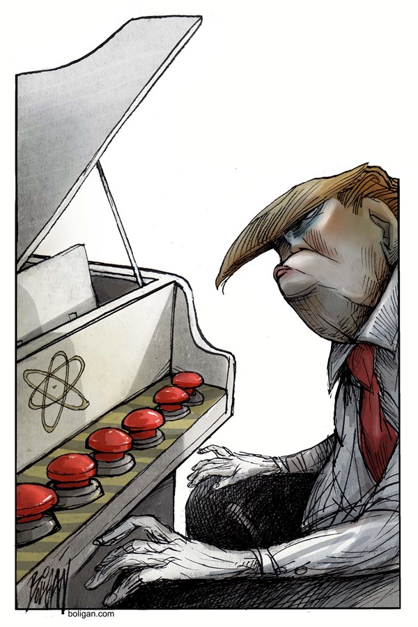 Trump Plays Nuclear Buttons
