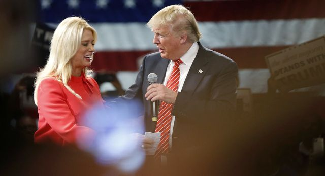 The Republican nominee has denied any wrongdoing in his donation to Florida Attorney General Pam Bondi.