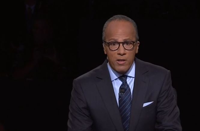 NBC News's Lester Holt fact checked the first presidential debate without taking attention away from the candidates, and in the process, he delivered for the American people.