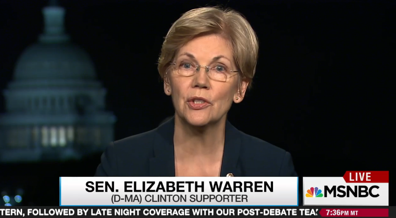 Senator Elizabeth Warren explains to Rachel Maddow why it is important that Democrats re-take the Senate to give Hillary Clinton the confirmation and regulatory support she will need if she is elected president.