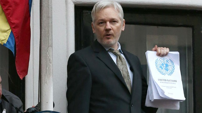 JULIAN ASSANGE IN EXILE
