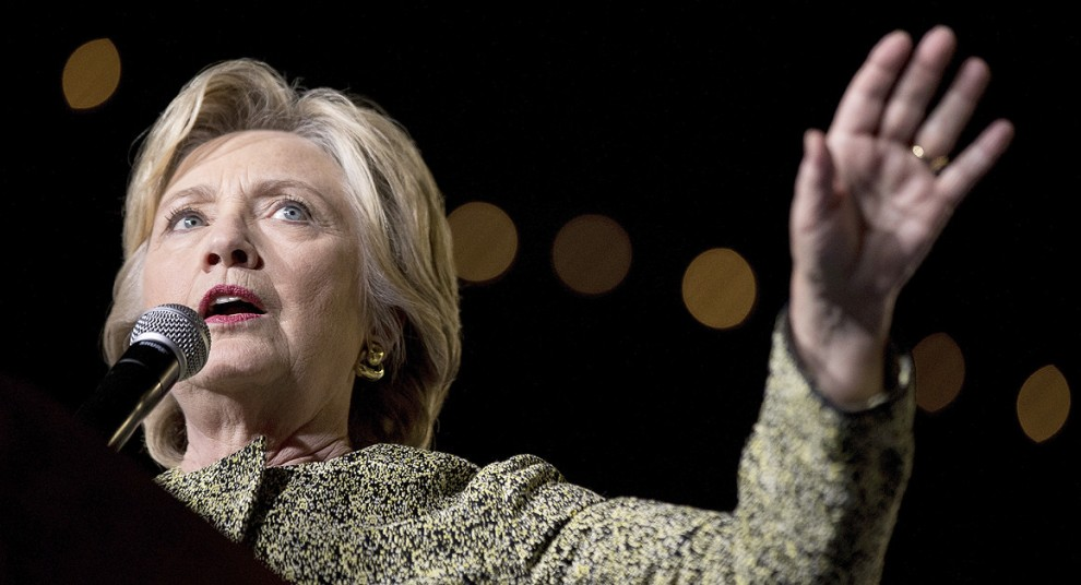 """""""The Clinton campaign will lean into the suggestion that Donald Trump or his close advisers are connected directly to the hack. 