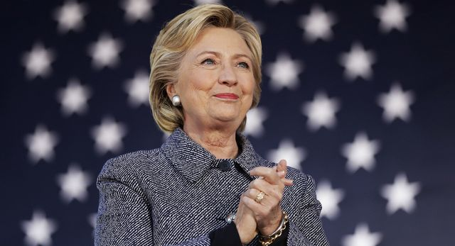Based on current polling, Hillary Clinton would be on track to win more than 300 electoral votes. | AP Photo