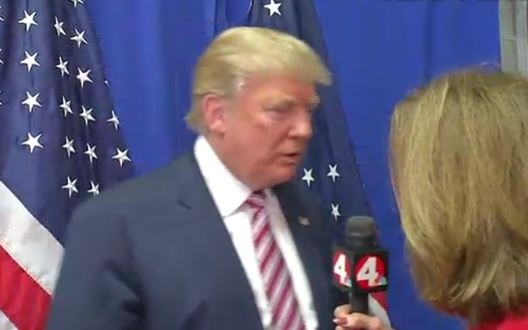 Donald Trump gave new meaning to the phrase cut and run as he abruptly cut off an interview with a local Ohio television station and ran away when he was asked about his racism and sexism.