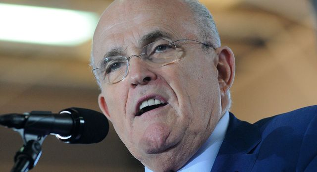 When Rudy Giuliani ran for president, he reported assets of between $18.1 million and $70.4 million. | Getty