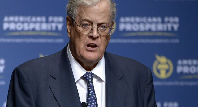 Despite past clashes — and looming policy disputes — the Koch brothers' operation has allies in key positions on Trump's team.