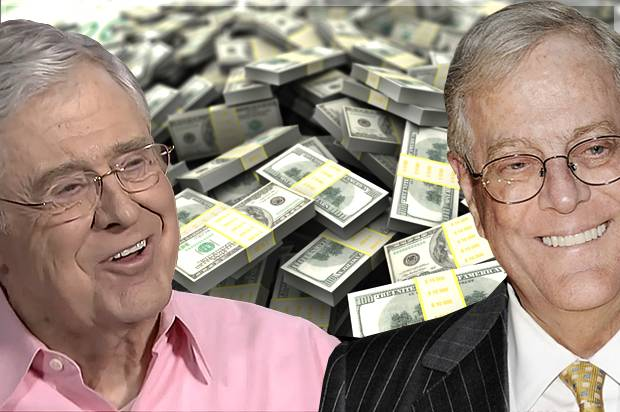 The Koch siblings sunk their tentacles — and cash — deep into local races, fielding 1,600 staffers in 38 states