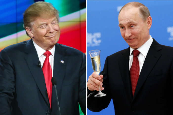 "Trump loves Putin, hates on Castro, while Putin points out ""Castro was a sincere and reliable friend of Russia."""